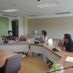 Meeting with Sugiyama Jogakuen University, Japan
