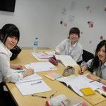 Japanese students from Chubu University, Aichi Prefecture, Japan