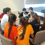 Group Discussion in English Class, Sripatum University, Bangkhen main campus