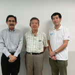 Prof.Hiroshi TANAKA, Ph.D., Daito Bunka University, Japan (Center)
