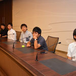 Japanese students from Univ.of Fukui 10 Sep, 2014
