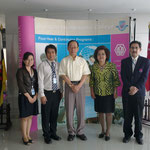 Prof. Hideki HIROTA with the Office of International Relations (OIR)