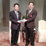 Mr. Nakaba SHINDO, President, The Yamanashi Chuo Bank, Ltd. and SPU-Japanese