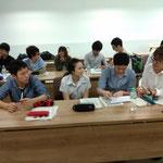 Fukui Univ.students and Sripatum Univ.studnts