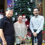 President of Hyundai Motors (Thailand) Co., Ltd. and Mrs. Ichimura