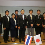 Pictures with Mr.Akihiko ISHIYAMA and Asst.Prof.Dr.Wirat[Vice President]
