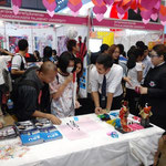 Sripatum Booth of Japan Expo in Thailand 2015