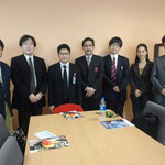 Japanese participants with Asst.Prof.Dr.Subin Yurarach ,Director,Research Facilitation and Development Center of SPU