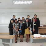 Presenter, Participants and Moderator, Room 1001, Building 11, Sripatum University Bangkhen main campus