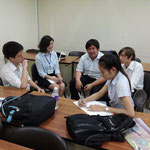 Sripatum Japanese T.A. and Dhurakij Pundit University Students Mar 18, 2015