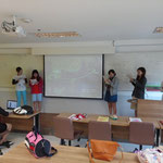 Presentation in English by Kwassui Women's University Students Mar 16, 2015