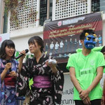 Cultural Activity (Setsubun) with University Social Responsibility of SPU