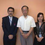 Prof.Hideki HIROTA ( Nara Sangyo University ) with SPU-Japanese