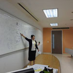 Ms.Risa AOKI from Gakushuin University Aug - Sep 2014 (Summer, 1/2014[2557])