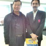 President Hyundai Motor Mr.Yoshiaki ISHIMURA (Left)