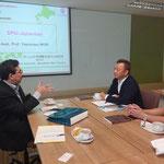 Prof. Dr. Shin MURAKAMI and Assoc. Prof. Ken'ichiro HIGUCHI, Sugiyama Jogakuen University