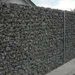 Sichtschutzwand Steinkörbe, Eberhard Gartenbau AG