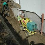 Auffüllarbeiten, Winkel ZH, Eberhard Gartenbau AG