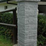 Schichtenmauerwerk Granit, Eberhard Gartenbau AG