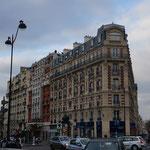 Ich liebe die Gebäude in Paris einfach!