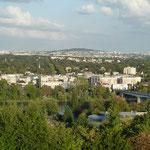 Aussicht von Saint-Germain-en-Laye auf La Defense