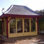 Jardin d'hiver Iffendic (charpente et menuiserie sur mesure)