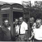 Einweihung Telefonzelle aus Doncaster