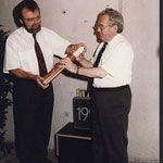 Grundsteinlegung Kulturtreff City 1992