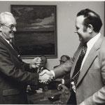 Schlüsselübergabe Westerholt 1975