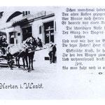 Pferdeomnibus Herten-Wanne 1901