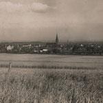 Stadtansicht aus Richtung Paschenberg 1930