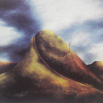 """The Mountain"" 180x180cms"