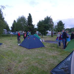 Camping site close to Hennef