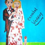 """""""Cannibal Wedding"""" (2013) 60x40 (Acryl / Leinwand)"""