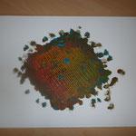 Abstracta - Phase Rot (2014) 40x30 (Acryl / Leinwand)