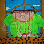 """Bizarre Suppe"" 2014 (Acryl) (60x40)"