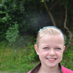 Unsere kleine süße Strahlemaus :-)