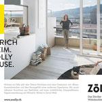 Naming, Wording, Textredaktion // Agentur: Hotz Brand Consultants // Kunde: Zölly –Das Zürcher Wohnhochhaus // Wo: Website, Verkaufsdoku, Banner, Anzeigen, Plakate, Give-Aways // Warum: Bekanntmachung, Vermarktung Immobilienprojekt
