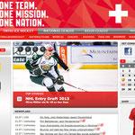 Kreation Slogan, Wording Werbemittel // Agentur: Mintberry // Kunde: Swiss Ice Hockey // Wo: Printmedien, Online, Events, Team, usw. // Warum: Markenentwicklung, neuer Slogan