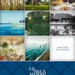 Idee, Wording // Agentur: Mintberry // Kunde: Le Vieux Manoir, Murten // Wo: Anzeige im Swiss Magazine // Warum: Bekanntmachung, Imageförderung