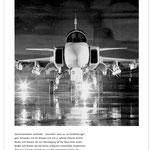 Idee, Konzeption, Wording // Agentur: Ottiger & Partner BSW // Kunde: Saab Gripen // Wo: Anzeigen in Fachpublikationen // Warum: Bekanntmachung des neuen Kampfjets, Imageförderung