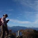 金峰山、八ヶ岳方面