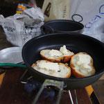 チーズとバケット