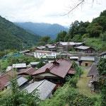 赤沢宿の全景