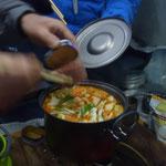 トマトチキン鍋美味しかったです!私が食当をしなかったのも久々です!