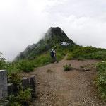 今日は先にある千本檜小屋までで終了です。大日岳、鎖場はまたの機会に