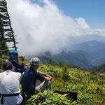 大島山からの素晴らしい眺望