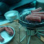 丹波山村の鹿肉ソーセージ美味しい!