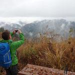 浅間嶺からの御前山