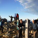 日曜にもう一度木曽駒山頂へ